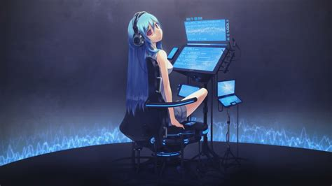 Animated Wallpaper Windows 7 Dreamscene - miku dreamscene rainmeter skin