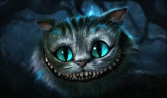 the cheshire cat in all honesty painting the cheshire cat