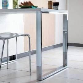 pied de table de cuisine table bar accessoires de cuisines With meuble ilot central cuisine 14 plan de travail pour bar de cuisine pied de table lot de