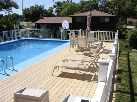 best pool decking what kind of pool deck is right