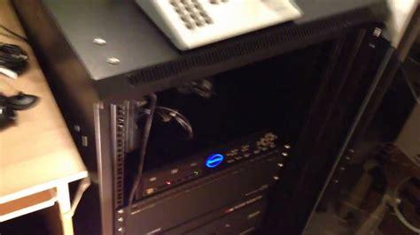 rackmount gears server cabinet install  security camera