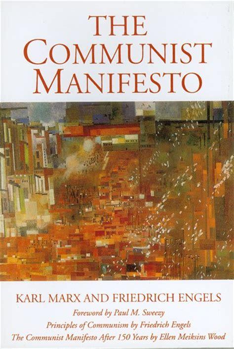 monthly review  communist manifesto