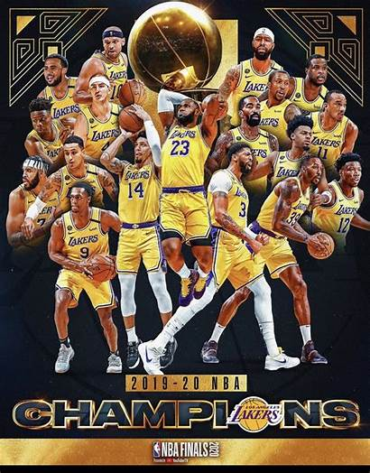 Lakers Nba Champions Angeles Wallpapers Finals Cave