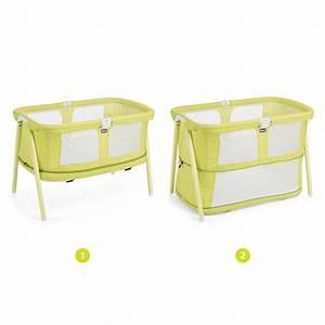 Berceau Bébé Chicco : berceau b b lullago zip lemon drop de chicco sur allob b ~ Medecine-chirurgie-esthetiques.com Avis de Voitures