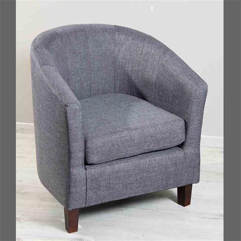 canapé cuir classique fauteuil cabriolet en tissu gris foncé dya