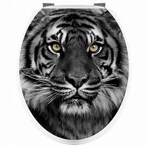 Aufkleber Für Toilettendeckel : wandtattoos folies aufkleber f r toilettendeckel tiger ~ Orissabook.com Haus und Dekorationen