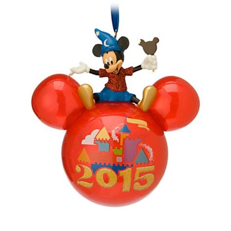 your wdw store disney christmas ornament 2015 mickey