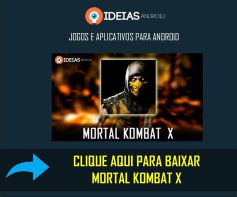 baixar jogo mortal kombat x ppsspp game free