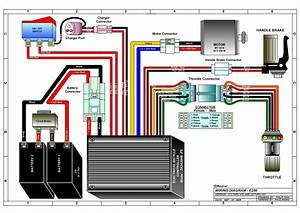 E300 Electric Scooter Wiring Diagram