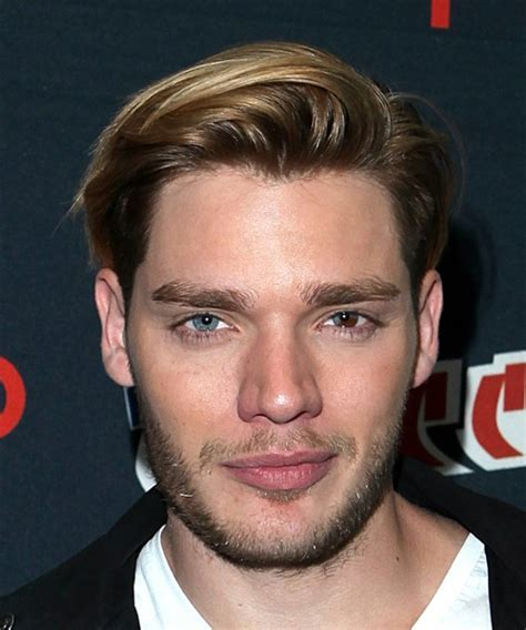 Dominic Sherwood Short Straight Casual Hairstyle   Light