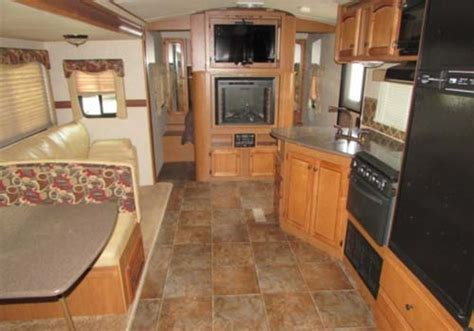 sunset trail bh  travel trailer great blue heron rv rentals sales