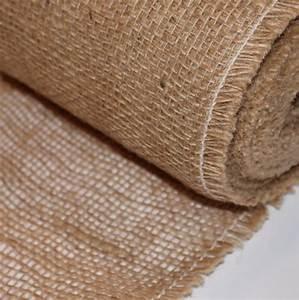 Teppich Läufer Meterware 90 Cm Breit : jute 50cm breit dekostoff meterware f r tischl ufer achwieschoen ~ Frokenaadalensverden.com Haus und Dekorationen