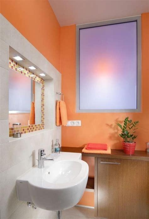 Badezimmer Fliesen Orange by Farbe Badezimmer Streichen Orange Wei 223 E Fliesen Mosaik