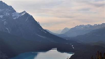 Mountain Sky Clear Nature Lake Desktop Laptop