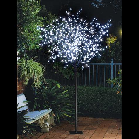 lytworx 2 5m 600 led white light up blossom tree