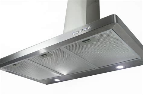 36 Inch Ductless Cabinet Range by Kitchen Wall Mount 36 Quot Stainless Steel Led Range