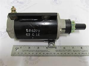 586279 585056 Omc Starter Motor Evinrude Johnson 40