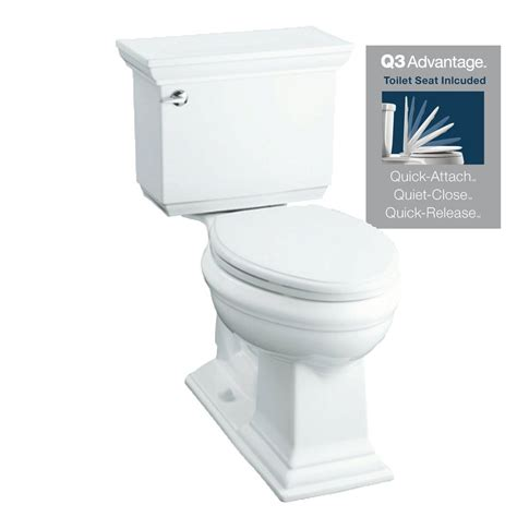 kohler memoirs white 1 28 gpf 12 in in watersense