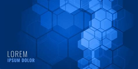 blue hexagonal shape medical background concept