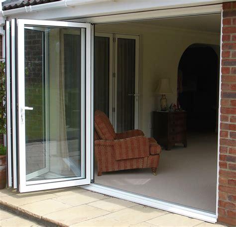 folding glass doors folding exterior glass doors cost