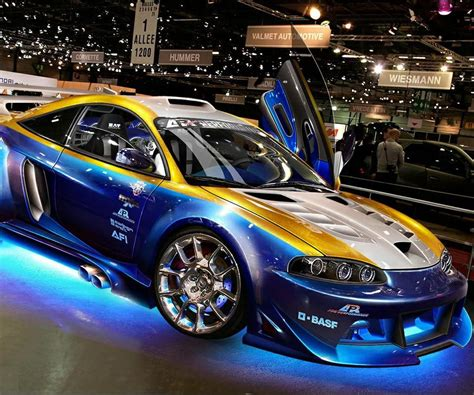 Blue Gold Sport Car By Danielwolf14 On Deviantart
