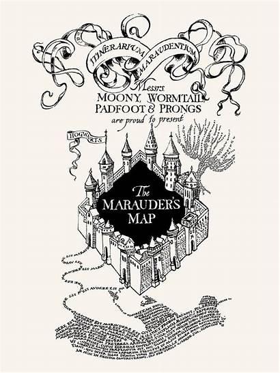 Marauders Map Swear Solemnly Prints Karte Patterns
