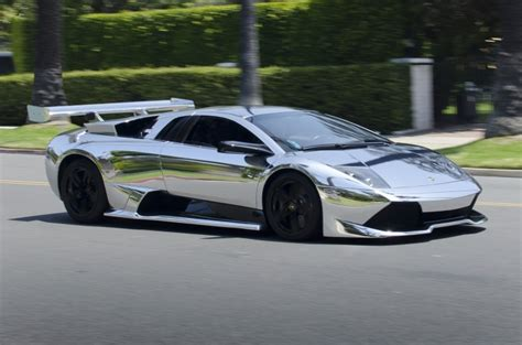 10 Coolest Chrome Cars Around The