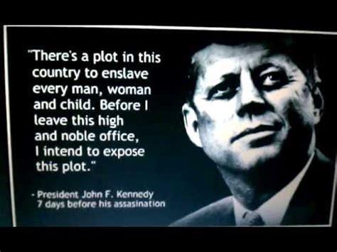 jfk  conspiracy theorist nwo debt slavery  theory