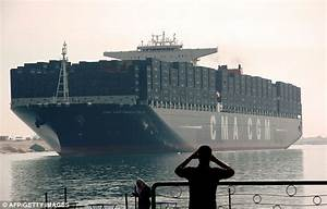 World's largest container ship - Prince of Wales Sea ...