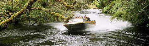 Jet Boat Lake Hauroko by Wairaurahiri River Wilderness Jet Boat Adventure