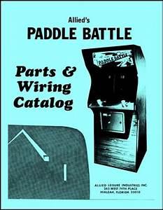 Paddle Battle Arcade Video Game Full Service  U0026 Repair