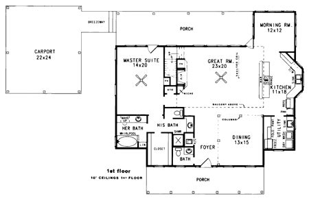 His And Bathroom Floor Plans by His And Bathrooms 3405vl Architectural Designs