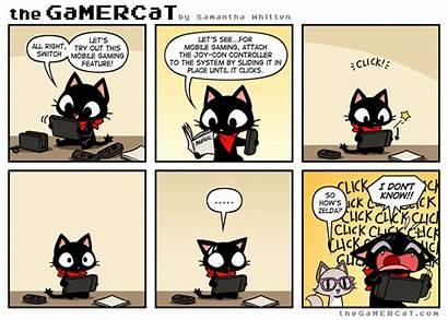 Gamercat Comics Zelda Gamer Cat Funny Sunday