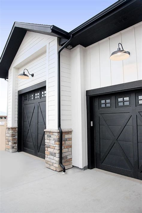 25 best ideas about painted garage doors on