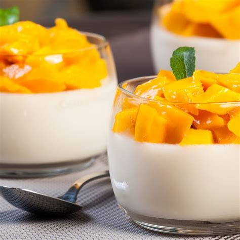 light dessert recipes this mango panna cotta recipe is and easy to