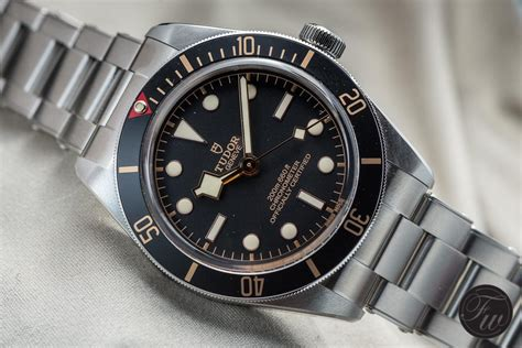 The New Tudor Black Bay Fifty-Eight: 39mm and a Thinner Case