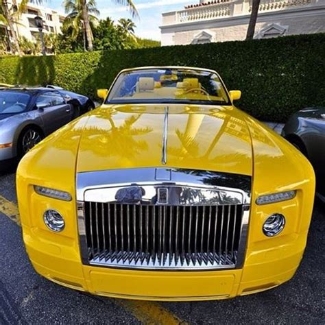 yellow rolls royce bling yellow rolls royce modes of travel and equipment