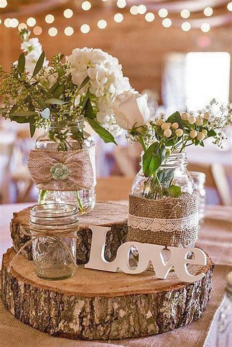 Best 10 Rustic Table Decorations Ideas On Pinterest
