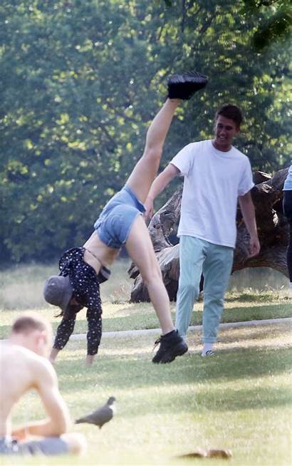Dua Lipa Boyfriend Park London Instagram Bikini