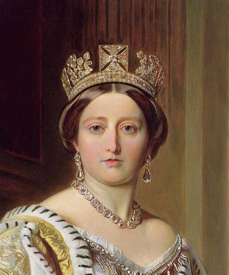 portrait of queen victoria painting by franz xavier winterhalter