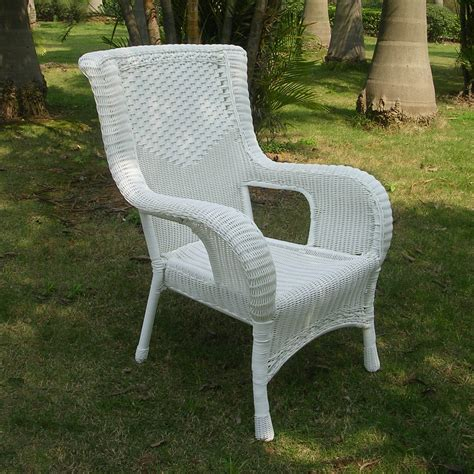Who Sells Outdoor Furniture by Resin Wicker Aluminum Dining Chair Ebay