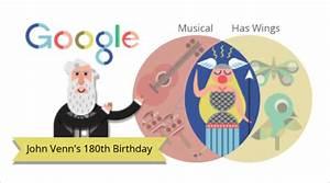 Google Doodle Rayakan Ultah Penemu Diagram Venn