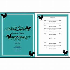restaurant menu openoffice templates free templates for With free restaurant menu templates for mac