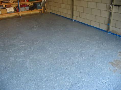 Garage Floor Paint Won T by Selkie Wood Works Garage Floor Repair Paint And Sprinkles