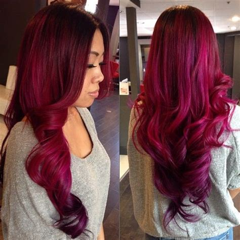 month  hair colors today magenta shades