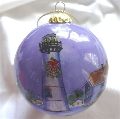 chatham lighthouse ornament the crystal pineapple the