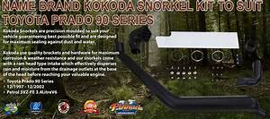 Name brand kokoda snorkel kit to suit toyota 80 series for What kind of paint to use on kitchen cabinets for dirt bike wall art