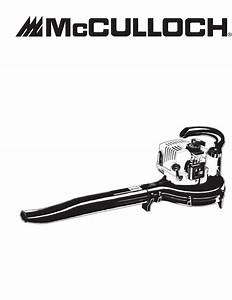 Mcculloch Blower Mb290 User Guide