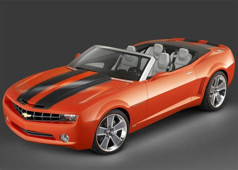 Convertible Camaro by 2007 Chevrolet Camaro Convertible Concept Pictures