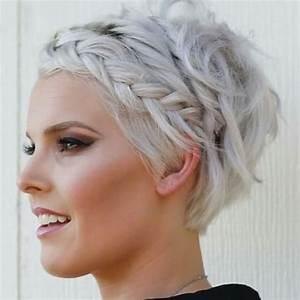 Tresse Cheveux Courts : les meilleurs coiffures avec tresses sur cheveux courts coiffure simple et facile ~ Melissatoandfro.com Idées de Décoration